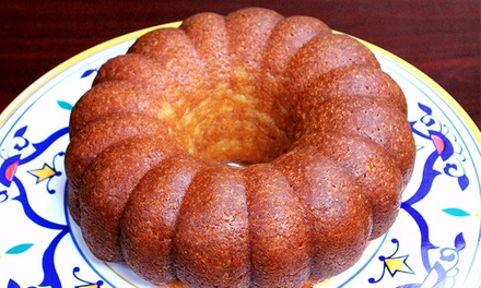 Made-to-Order Rum Cake at Jaspertastycakes (Up to 50% Off). Two Options Available.