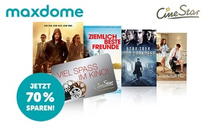 Maxdome: 3 Monate lang Filme und Serien bei maxdome(72% sparen)