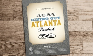 DiningOut Atlanta: $35 for DiningOut Atlanta Passbook featuring Atlanta's Top Restaurants (STK, Agave, and More, $99 Value)