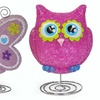 Heritage Kids' Butterfly or Owl EVA Lamp