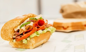 Subway - 1946 1st Street: $10 for $15 Worth of Sandwiches, Sides, and Drinks at Subway