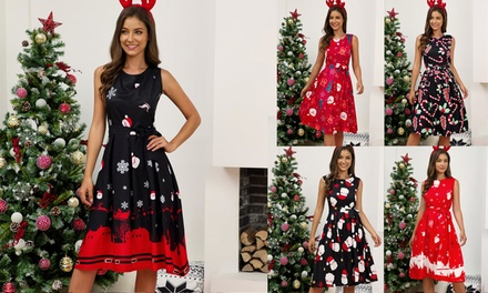 Christmas Dresses: One ($25) or Two ($45) (Don't Pay up to $139.90)