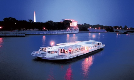 Three-Hour Cherry Blossom Festival Dinner Cruise from Odyssey Cruises (40% Off). Two Options Available.