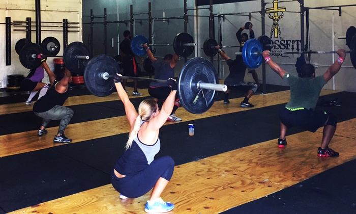 CrossFit 3816 - Eagle Industrial Park: One or Two Months of Unlimited CrossFit at CrossFit 3816 (Up to 72% Off)