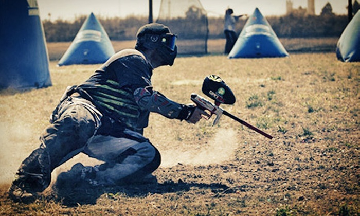 Diamond Hill Paintball - Diamond Hill Paintball: Three Hours of Paintball with Equipment Rentals for One, Two, or Four at Diamond Hill Paintball (Up to 60% Off)