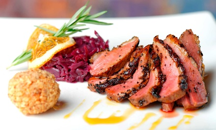 $15 for $30 Worth of Contemporary Italian Cuisine at Amaretto Bistro