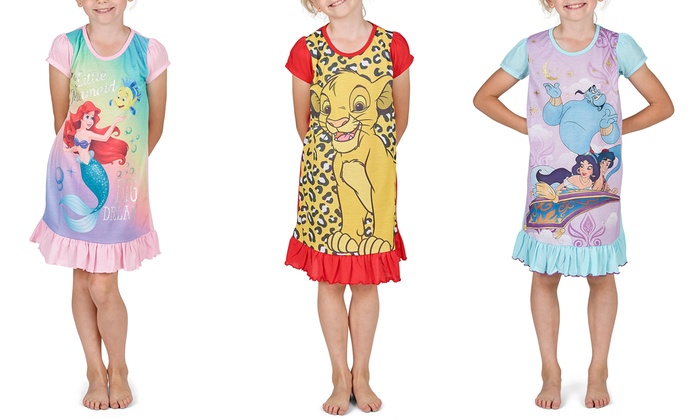 Disney Character Girls' Night Dress
