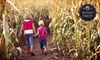 Funworks Modesto - Funworks!: Corn-Maze or Amusement-Park Outing for Two, Four, or Six at Funworks! (Up to 55% Off)