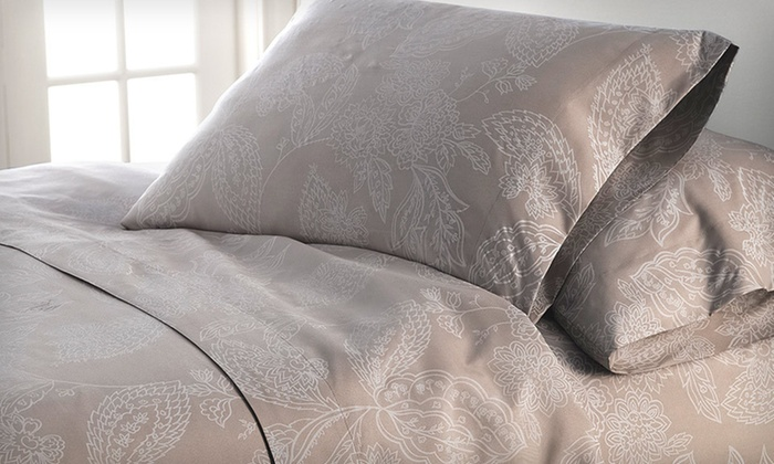 Luxury Touch Damask Printed Sheets: Luxury Touch Damask Printed Sheets (Up to 75% Off). Multiple Colors and Sizes Available. Free Shipping and Free Returns.