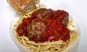 Fins and Noodles: $11 for $20 worth of Incredible Italian or Sustainable Seafood for Two or More at Fins and Noodles