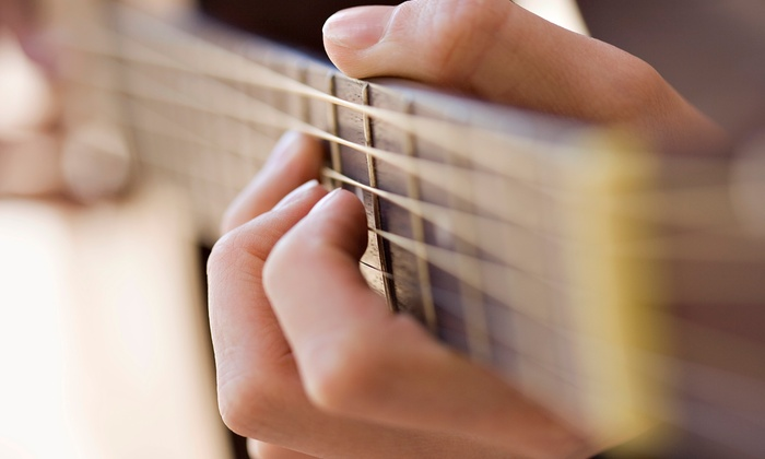 Whole Tone Guitar Studio - Toronto: Two or Four Private or Group Guitar Lessons at Whole Tone Guitar Studio (Up to 54% Off)