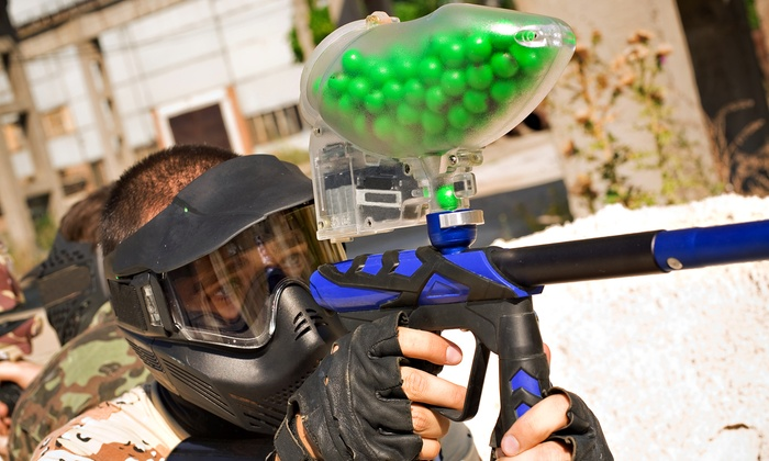 Tempe Paintball - Tempe: Paintball Outing for 4 or 8 with Equipment Rental and Rounds at Tempe Paintball (Up to 43% Off)