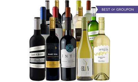 $69 for a 15-Bottle Winter Wine Discovery Pack with a Wine Thermometer from Splash Wines ($280.26 Value)