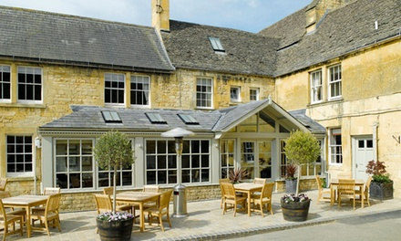 Cotswolds: Classic Double Room for Two with Breakfast and Cream Tea at Noel Arms Hotel