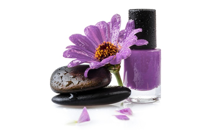 Sorelle Spa Salon - Fisher's Village: $28.75 for One Lavender Hot Stone Pedicure at Sorelle Spa Salon ($50 Value)