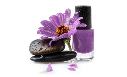 $28.75 for One Lavender Hot Stone Pedicure at Sorelle Spa Salon ($50 Value)