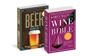 The Wine Bible and The Beer Bible Book Set
