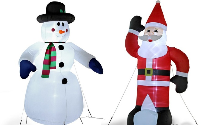 Decorazioni Natalizie Gonfiabili.Decorazioni Gonfiabili Di Natale Groupon Goods