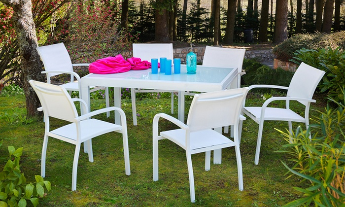 Salon de jardin Honfleur | Groupon Shopping
