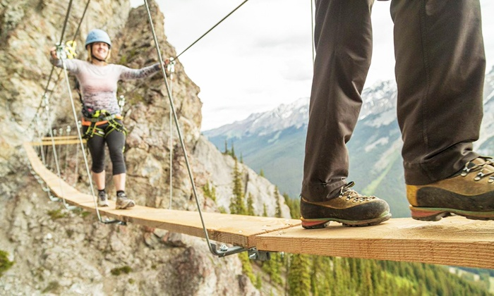 Discover Banff Tours - Banff : Two-Hour Guided Mt. Norquay Climbing Experience for Two or Four with Discover Banff Tours (Up to 44% Off)