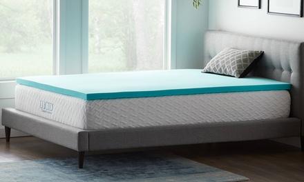 Lucid Comfort Collection Gel Memory Foam Toppers