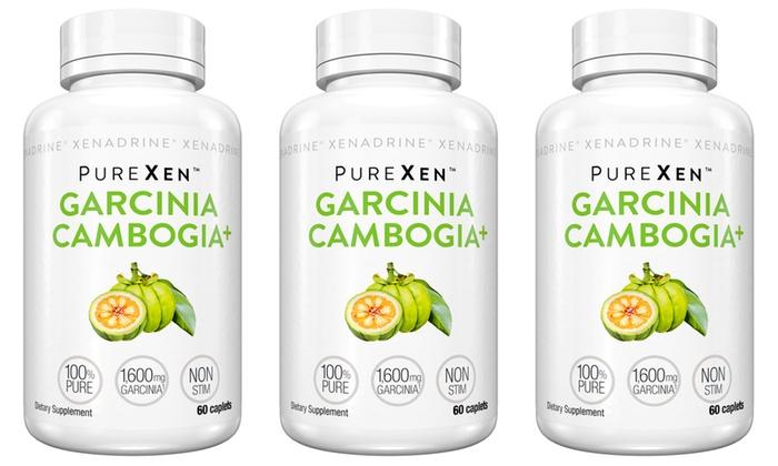 Purexen Garcinia Cambogia 1 2 Or 3 Pack Groupon