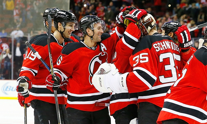 New Jersey Devils - Prudential Center: New Jersey Devils Ticket, Souvenir, and Concession Package at Prudential Center on April 3 or 7