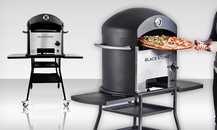 Blackstone patio oven blackstone patio oven with pizza for Blackstone patio oven reviews