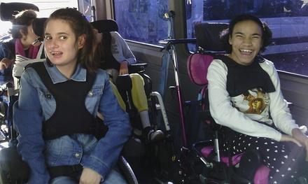 Dona 2 € o 5 € para financiar las furgonetas adaptadas a niños con parálisis cerebral en colaboración con Atenpace