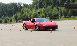 Dream Drive Exotics: Autocross Driving Experience in an Exotic Car from Dream Drive Exotics (Up to 50% Off)