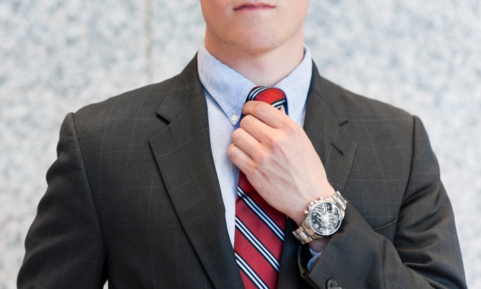 Bunbury Custom Clothiers - Greensboro: Custom Suit with Shirt and Tie or Four Custom Egyptian-Cotton Shirts at Bunbury Custom Clothiers (Up to 65% Off)