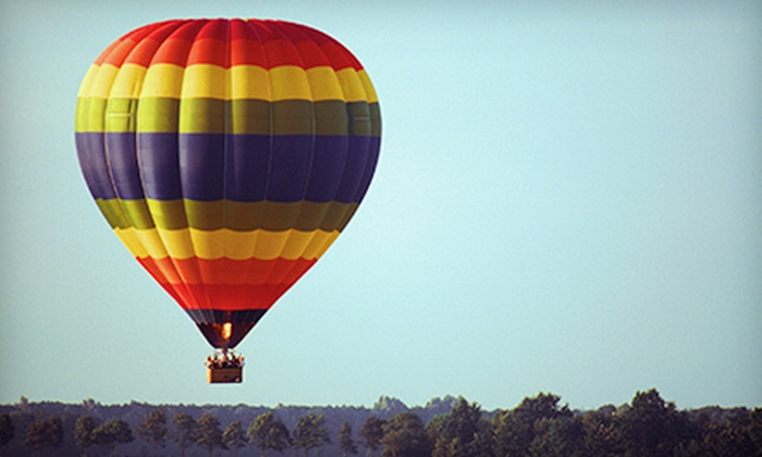 Morning Star Balloons - Park City: One-Hour Hot Air Balloon Ride and Champagne Toast for One or Two from Morning Star Balloons (Up to 47% Off)