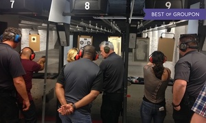 San Diego Firearms Training Center: Shooting-Range or Intro to Firearms Package for Two at San Diego Firearms Training Center (Up to 37% Off)