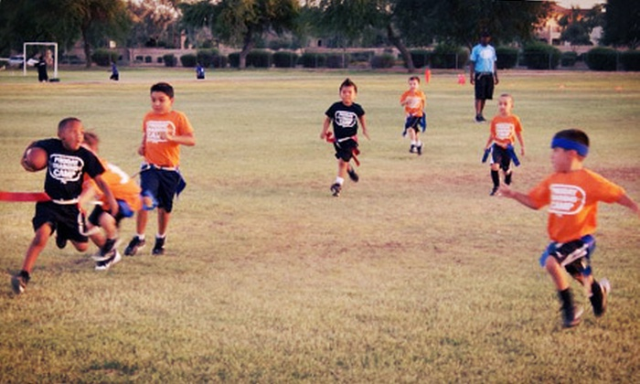 ProDay Training Camp - Chandler: $49 for Registration for an Eight-Week Winter Flag-Football League for One Child from ProDay Training Camp ($99 Value)