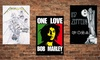 """30""""x40"""" Fabric Rock-'n'-Roll Posters: 30""""x40"""" Fabric Rock-'n'-Roll Posters. Multiple Prints Available. Free Returns."""