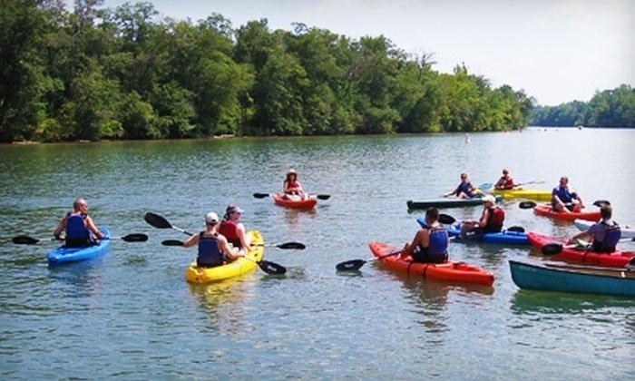 Lake Wylie Kayak Rentals - Mount Holly: Kayak or Pontoon Rental at Lake Wylie Kayak Rentals in Mount Holly