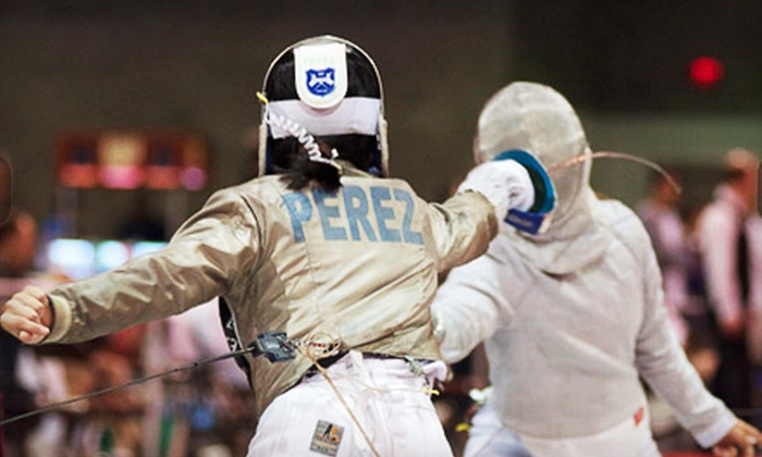 Coastside Academy of Fencing - Outer Richmond: One Private Fencing Lesson ($40 Value)