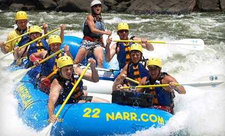 North American River Runners: Lower Gauley Whitewater-Rafting Trip & 2 Nights of Camping for 2: Mon. Trip - North American River Runners in Minden