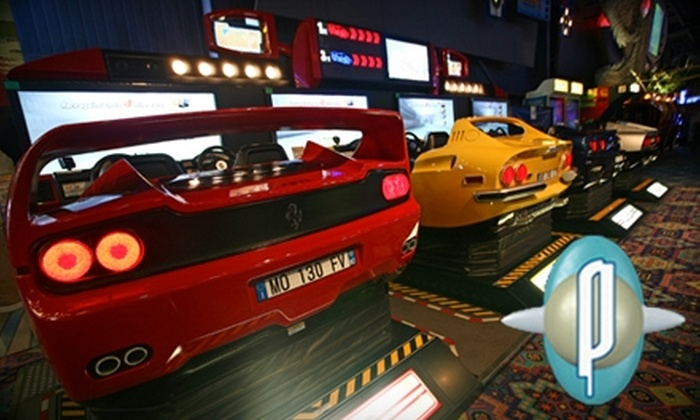 Playdium - City Centre: $23 for 300-Credit Playcard at Playdium in Mississauga