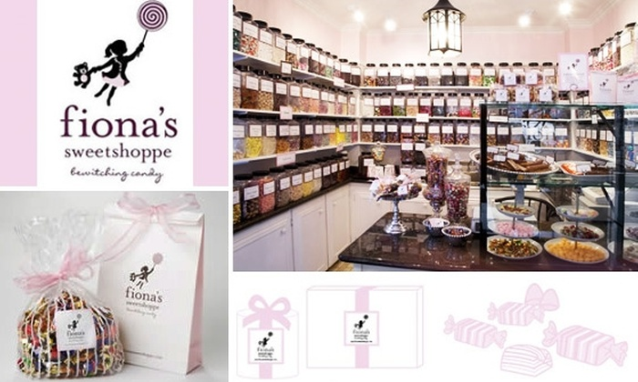Fiona's Sweetshoppe - Downtown: $8 for $20 Worth of Sweet Candies at Fiona's Sweetshoppe