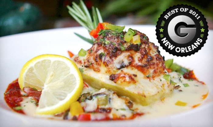 Broussard's - East Bank,French Quarter,Storyville,Vieux Carre: Creole Cuisine and Drinks at Broussard's (Up to 57% Off). Two Options Available.