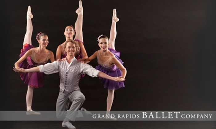 "Grand Rapids Ballet Co. - Belknap Lookout: One Ticket to George Balanchine's ""Who Cares?"" at the Grand Rapids Ballet Company. Three Dates with Two Seating Options Available."