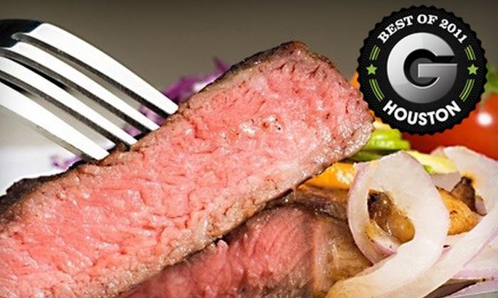 Cattleguard Restaurant & Bar - Energy Corridor: $15 for $30 Worth of Steakhouse Fare at Cattleguard Restaurant & Bar