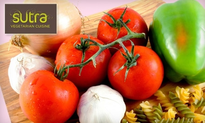 Sutra - Wallingford: $15 for $35 Worth of Fresh Vegetarian Fare at Sutra