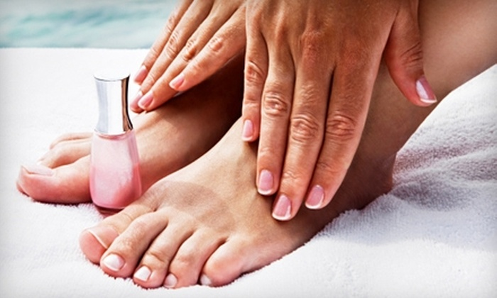 Tranquility Weight Loss and Spa - Forest Hills: Nail or Skin Beautifying Services at Casa R. Caballero Salon. Three Options Available.