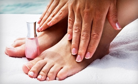 Tranquility Weight Loss and Spa: Shellac Manicure and Spa Pedicure - Tranquility Weight Loss and Spa in Tampa