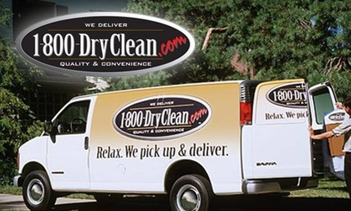 $25 for $50 Worth of Pick-up and Delivery Dry Cleaning Service, or $10 for $20 Worth of Service, from 1-800-DryClean. Choose from Four Service Providers.