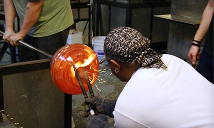 Uptown Glassworks - Renton: $19 for a Blow-Your-Own-Glass Activity at Uptown Glassworks in Renton (Up to $50 Value)