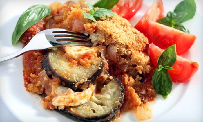 La Bella Via - Phillipsburg: $12 for $25 Worth of Italian Fare at La Bella Via in Phillipsburg