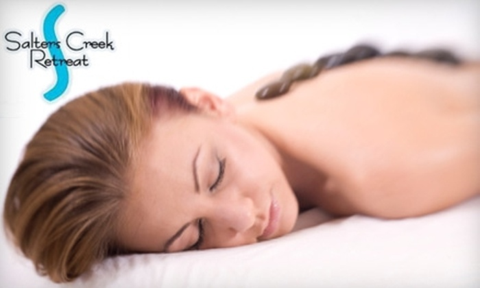 Salters Creek Retreat & Day Spa - Victoria Boulevard Historic District: Spa Services at Salters Creek Retreat & Day Spa in Hampton. Choose Between Two Options.